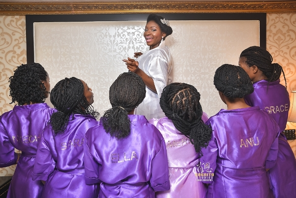 My Big Nigerian Wedding Blessing & George Abuja Wedding - LoveweddingsNG6