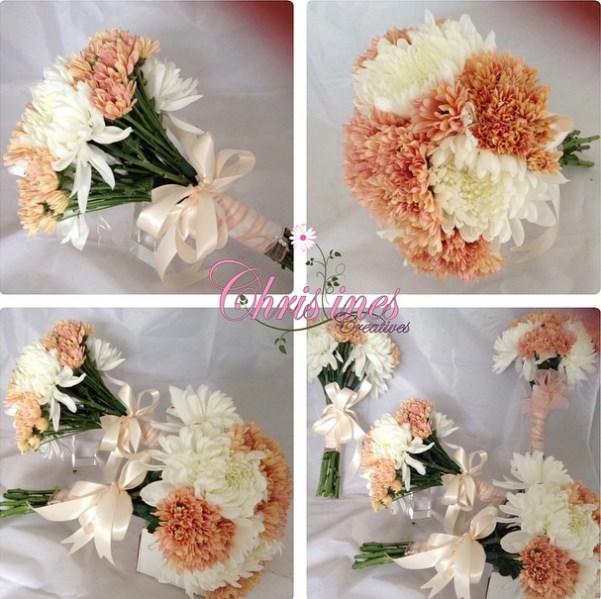 Nigerian Bridal Bouquet Christines Creatives LoveweddingsNG1