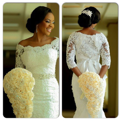 Nigerian Bridal Bouquet Faces by Labisi IPC Events Lypix Photography LoveweddingsNG