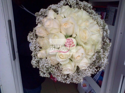 Nigerian Bridal Bouquet Pretty Fabulous LoveweddingsNG3