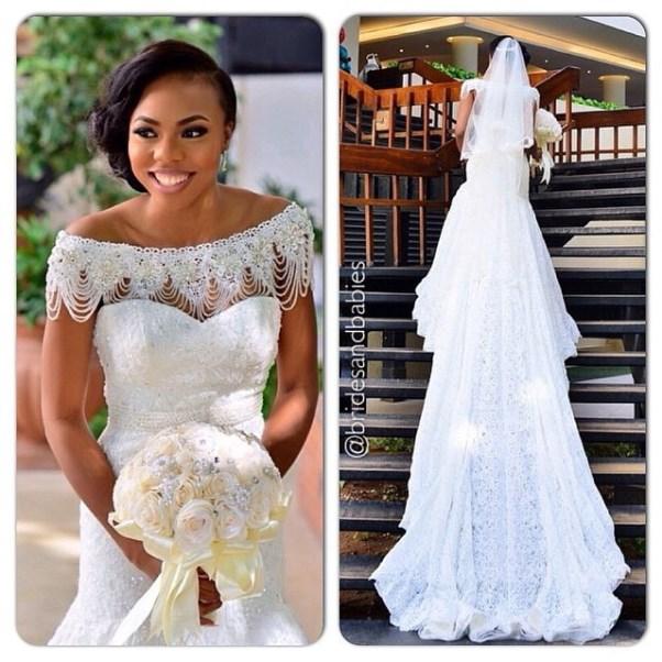 Nigerian Bridal Bouquet by Brides and babies LoveweddingsNG