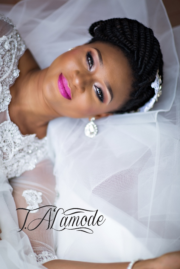 Nigerian Bridal Makeup TAlaMode Makeup LoveweddingsNG1