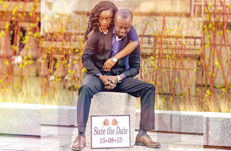 Nigerian Save The Date Inspiration Adeola & Ademola