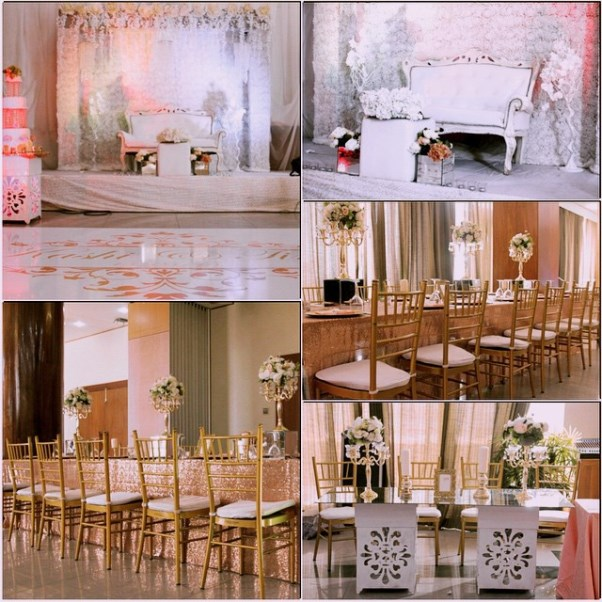 Nigerian Wedding Decor LoveweddingsNG Posh Event Solutions1