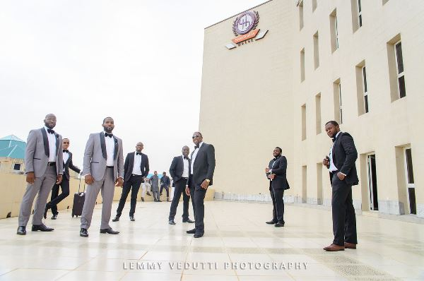 Solange Inspired Groomsmen LoveweddingsNG