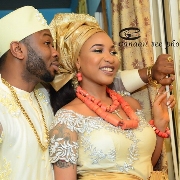 Tonto Dikeh Oladunni Churchill Traditional Wedding - LoveweddingsNG