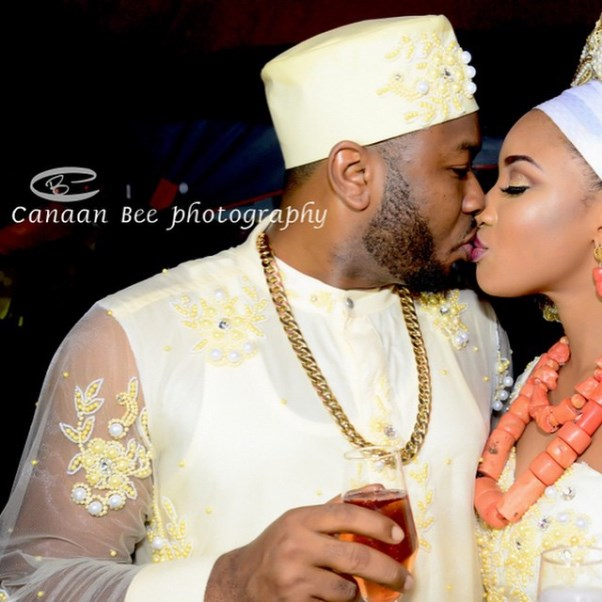 Tonto Dikeh Oladunni Churchill Traditional Wedding - LoveweddingsNG6