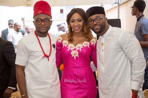 Ubi Franklin and Lilian Esoro Introduction - Iyanya LoveweddingsNG1