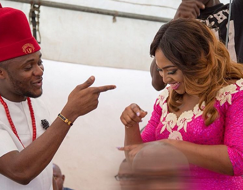 Ubi Franklin and Lilian Esoro Introduction - LoveweddingsNG2