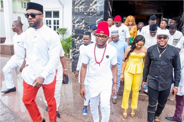 Ubi Franklin and Lilian Esoro Introduction - LoveweddingsNG21