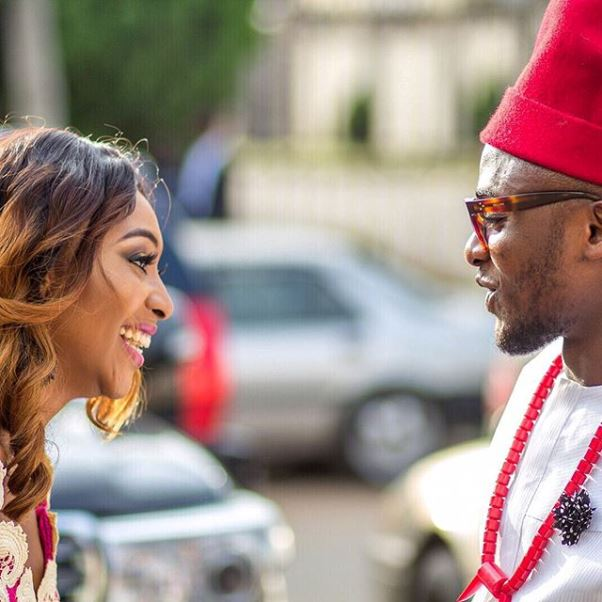 Ubi Franklin and Lilian Esoro Introduction - LoveweddingsNG24