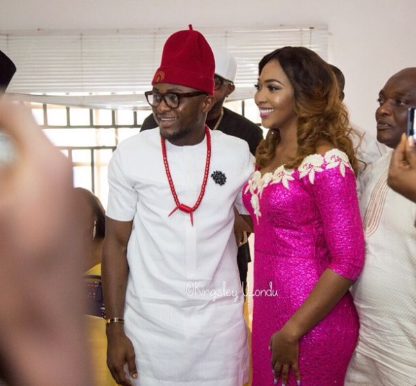 Ubi Franklin and Lilian Esoro Introduction - LoveweddingsNG3