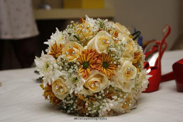 Emmanuel & Noye My Big Nigerian Wedding Lagos - Bouquet - LoveweddingsNG