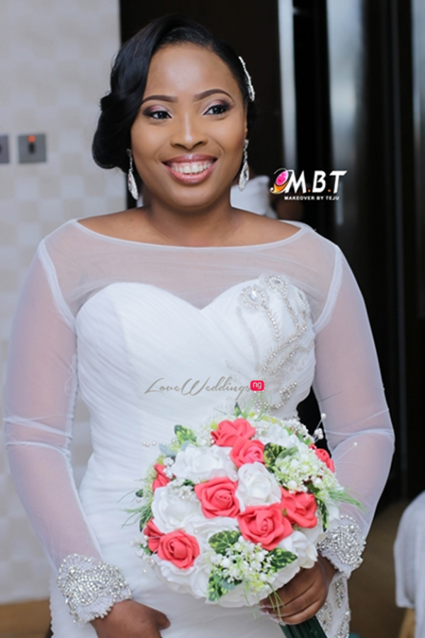 Lara George's Brother - Ademola Bajomo weds Nnenna LoveweddingsNG9