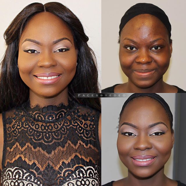 LoveweddingsNG Before and After - FacesbyDEO