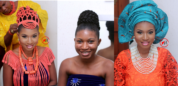 LoveweddingsNG Before and After - Molurlahs Makeover