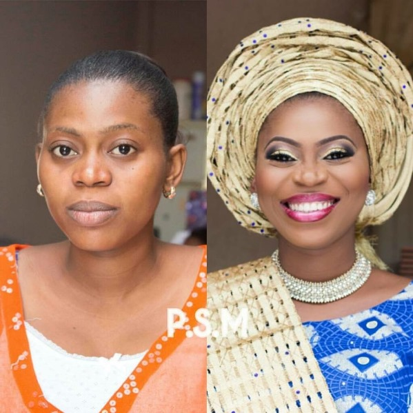LoveweddingsNG Before and After Prospotted Makeovers