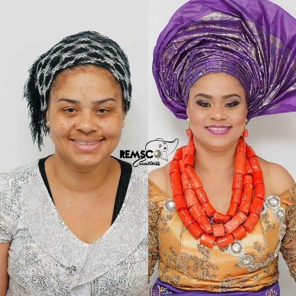 LoveweddingsNG Before and After Remsco Creations