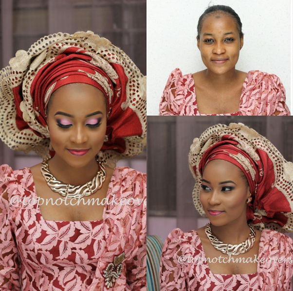 LoveweddingsNG Before and After - Topnotch Makeovers