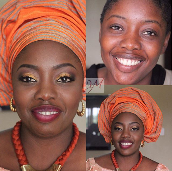 LoveweddingsNG Before and After - You Makeovers