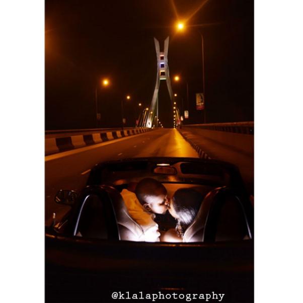 LoveweddingsNG Bera and Jindu Pre Wedding Klala Photography - Lekki Bridge