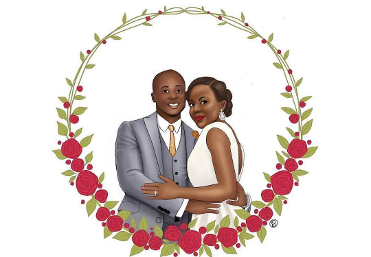 Nigerian Wedding Illustrations Data Oruwari LoveweddingsNG