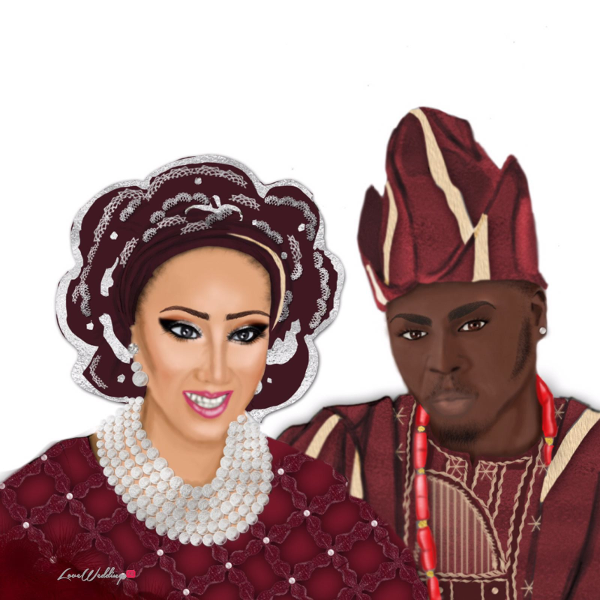 Nigerian Wedding Illustrations Mz Chizoba LoveweddingsNG