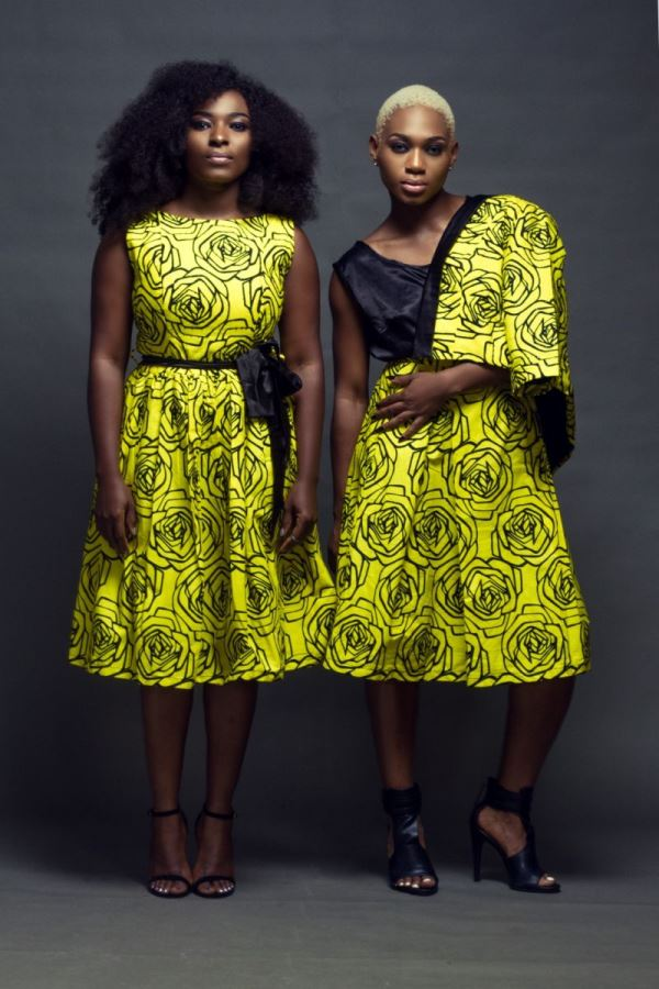 Uju Estelo 2015 Collection - Meg Otanwa & Ezinne Asinugo1
