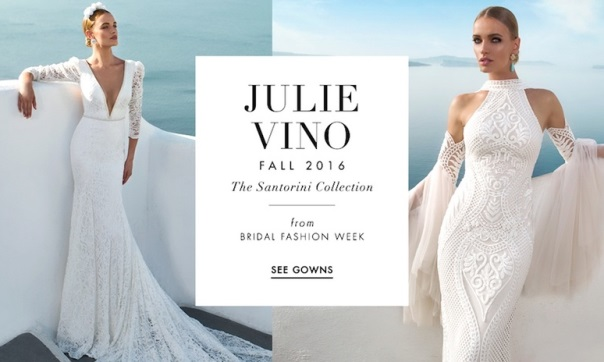 "Julie Vino's Fall 2016 Collection – ""The Santorini Collection"""