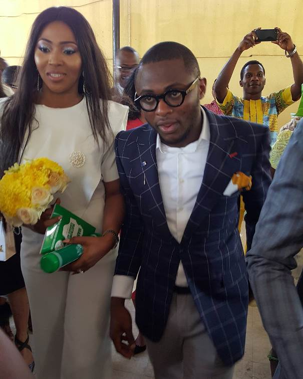 Lilian Esoro & Ubi Franklin's Registry Wedding LoveweddingsNG12