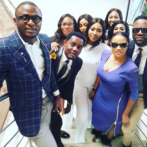 Lilian Esoro & Ubi Franklin's Registry Wedding LoveweddingsNG8