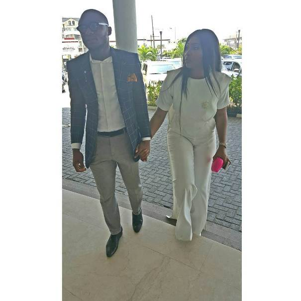 Lilian Esoro & Ubi Franklin's Registry Wedding LoveweddingsNG9