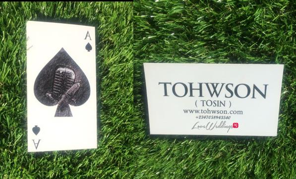 LoveweddingsNG Business Cards - Tohwson