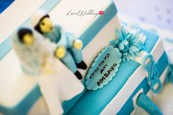 LoveweddingsNG Dr and Baby Zaga Traditional Wedding cake