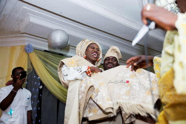 LoveweddingsNG presents Iyanu & Femi's Traditional Wedding | Ice Imagery