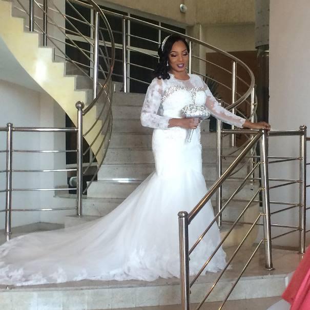 LoveweddingsNG Wonuola and Mayokun White Wedding