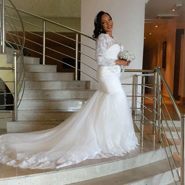LoveweddingsNG Wonuola and Mayokun White Wedding1