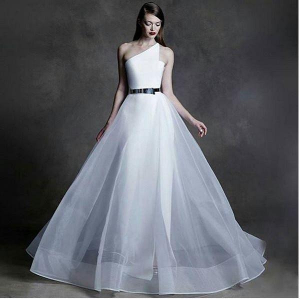 Marcy Dolapo Oni & Gbite Sijuwade's White Wedding LoveweddingsNG - the dress