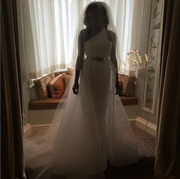 Marcy Dolapo Oni & Gbite Sijuwade's White Wedding LoveweddingsNG