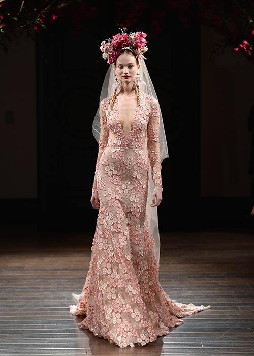 New York Bridal Fashion Week 2016 - Naeem Khan