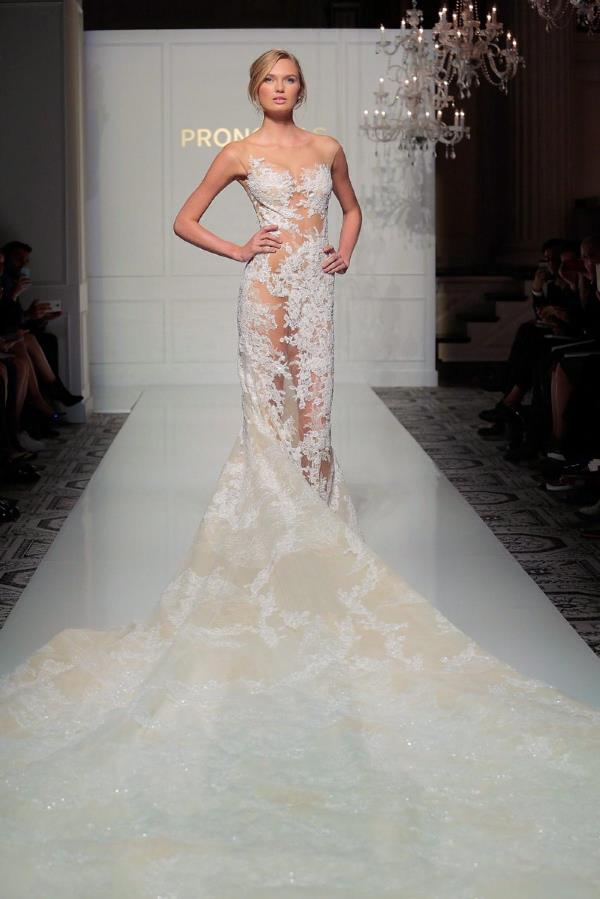New York Bridal Fashion Week - Pronovias LoveweddingsNG1