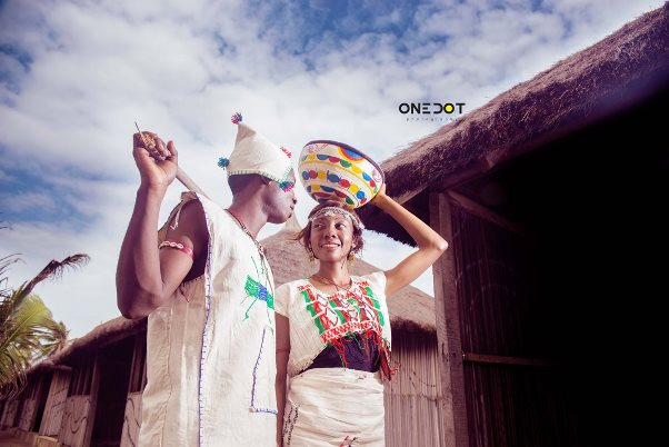 Nigerian Traditional Prewedding Shoot - Onedot4