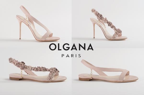 Olgana Paris Spring 2016 Bridal Shoe Collection - LoveweddingsNG13