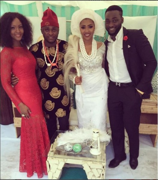 Ubi Franklin & Lilian Esoro Traditional Wedding LoveweddingsNG - Gbenro & Osas Ajibade