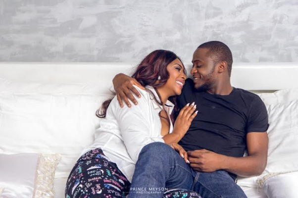 Ubi Franklin and Lilian Esoro Pre wedding LoveweddingsNG12