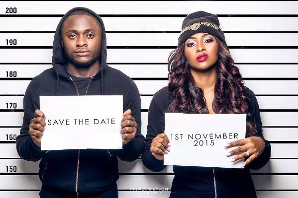 Save The Date for Ubi Franklin & Lilian Esoro