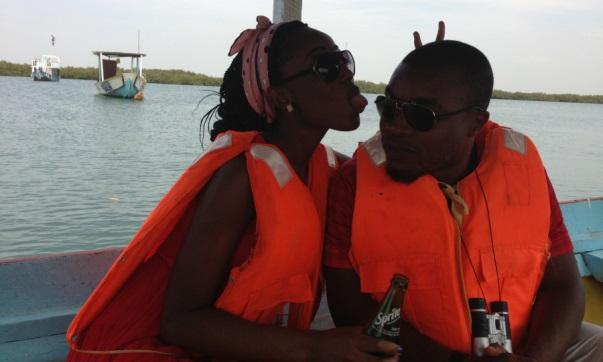 Gambia - Nigerian Honeymoon Destination - Fishing River Gambia LoveweddingsNG Naija Nomads feat
