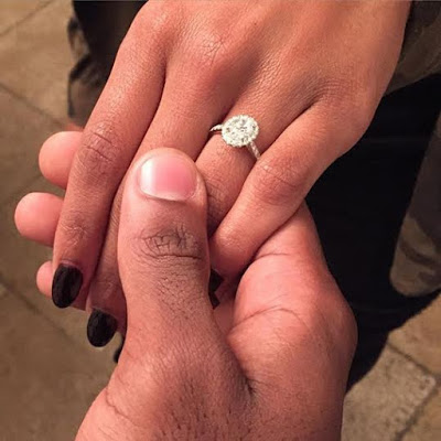 Italia Smith is engaged - LoveweddingsNG