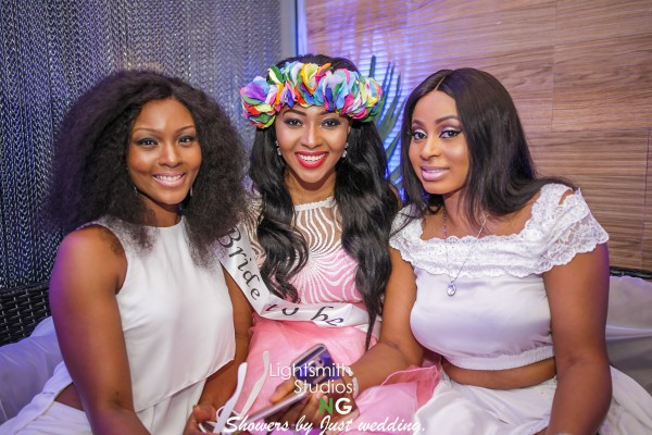 Lilian Esoro Bridal Shower LoveweddingsNG - Osas Ajibade and Mabel Makun