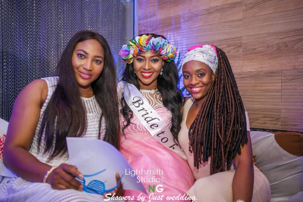 Lilian Esoro Bridal Shower LoveweddingsNG12